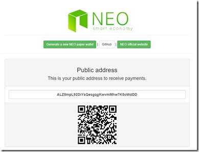 neo how to create privatekey