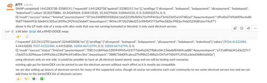 komodo bitcoin atomic swap