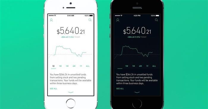 RobinHood cryptocurrency exchange