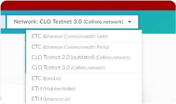 Claim callisto using ethereum classic wallet