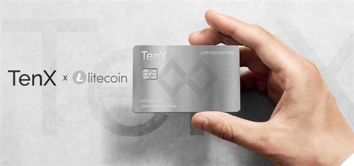 tenx litecoin card