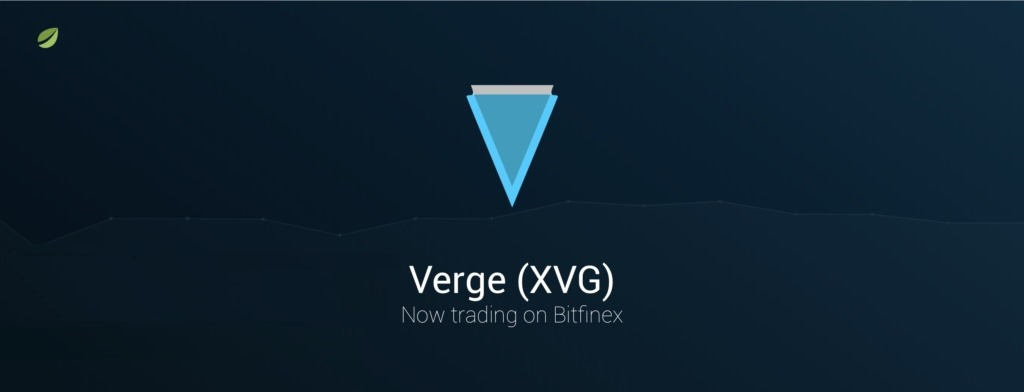 Bitfinex adds supports for Verge (XVG)