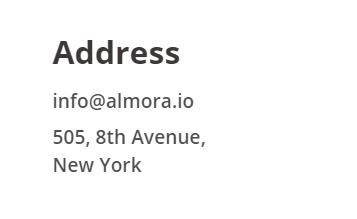 almora address is fake