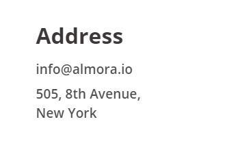 almora address is fake