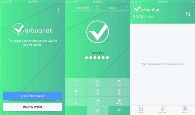 vertcoin ios wallet