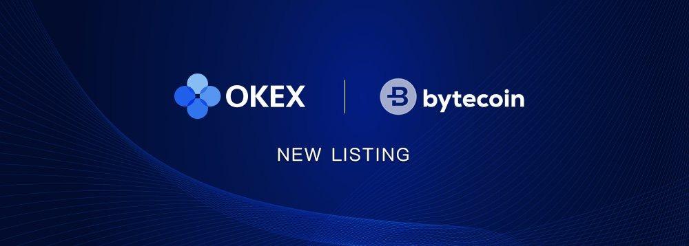 bytecoin okex