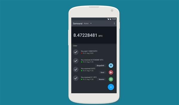 Download Samourai Wallet on Android, PC