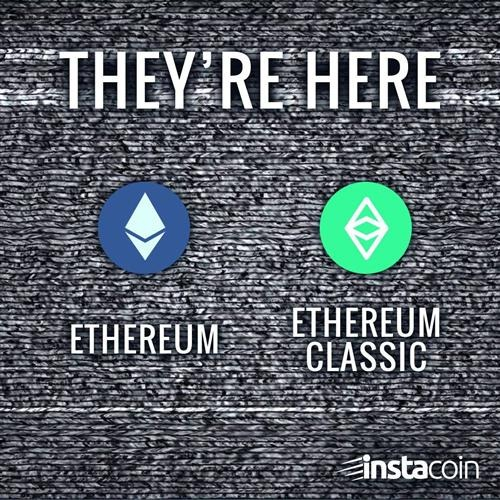 instacoin ethereum classic