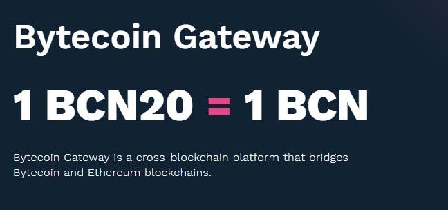 bytecoin gateway