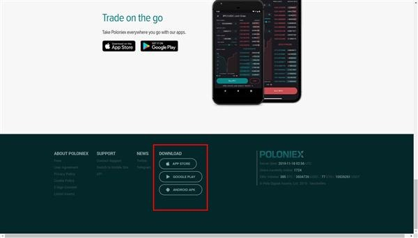 download poloniex iphone app