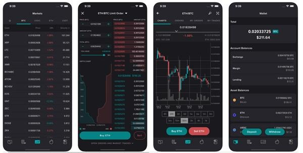 iphone poloniex app