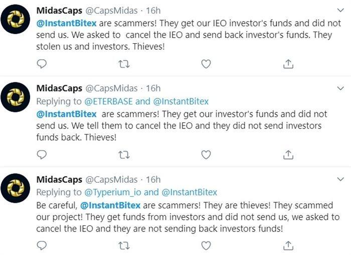 instant bitex scam
