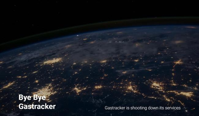gastracker shuts down