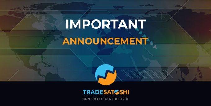tradesatoshi closing down