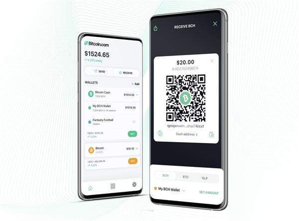 Bitcoin com Wallet