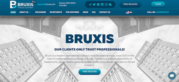 bruxis financial investment