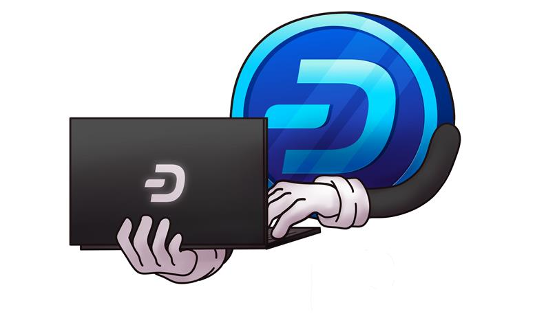 dash coin twitter suspended