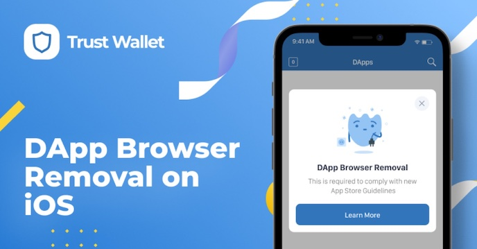 trust wallet dapp support
